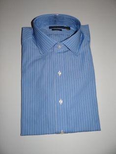 Polo Ralph Lauren Men's Blue/White Classic Fit Long Sleeve 100% Cotton Shirt  #RalphLauren #ButtonFront