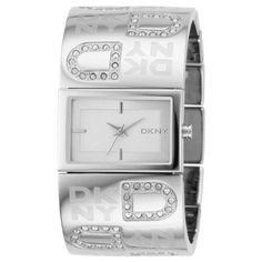 DKNY Women's NY4738 Silver Stainless-Steel Analog Quartz Watch with Silver Dial DKNY. $101.28. 30 Meters / 100 Feet / 3 ATM Water Resistant. Mineral Crystal. 24mm Case Diameter. Analog Quartz Movement. Save 25% Off!