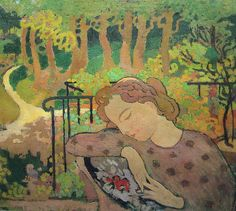 The Athenaeum - Earthly Paradise (Maurice Denis - 1892)