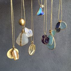 """Pippa Small """"Amulets"""" necklaces"""