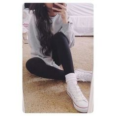 converse outfit ♡