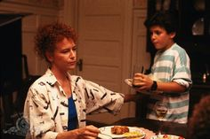 Still of Fred Savage and Margaret Whitton in Little Monsters (1989)