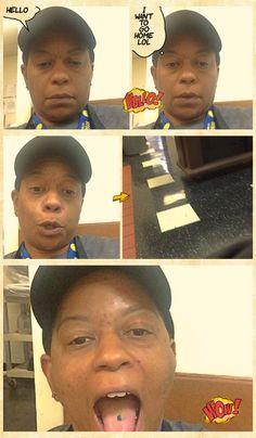 Bored at work