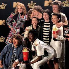 Stranger Things Cast at the MTV Awards