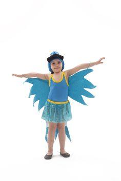 Fantasia infantil de arara azul Lezoo