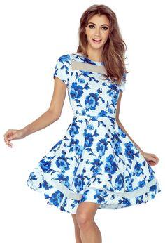 Šaty Pomněnky, modré