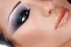 Eyeliner ideas. Blitz and Glitz is a black gel liner with shimmer.