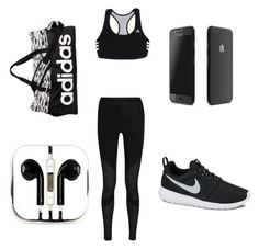 Untitled #6 by lydss2k15 on Polyvore featuring polyvore, fashion, style, NIKE, adidas and PhunkeeTree