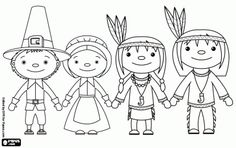 414 Best Color Thanksgiving For Children Teens Images Coloring