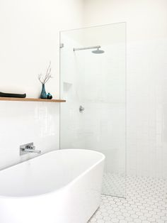 10 Charming Minimalist Bathroom Design Inspiration You Need to Apply White Subway Tile Bathroom, Laundry In Bathroom, Bathroom Renos, Simple Bathroom, Bathroom Renovations, Modern Bathroom, Remodel Bathroom, Concrete Bathroom, Japan Bathroom