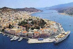Poros was the site of the first naval base in modern Greece