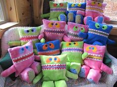 Attack of the Pajama Eaters 2012! - Sew Fearless