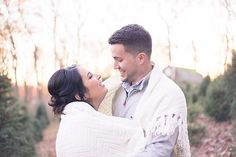 Connecticut Engagement Session at Joseph's Tree Farm in Hamden, CT | Shaina Lee Photography | Connecticut Wedding Photographer