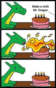 Poor Mr. Dragon