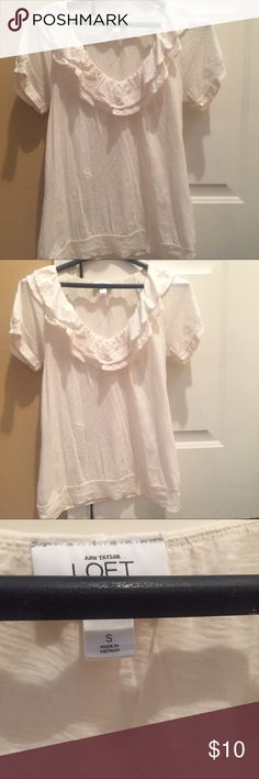 Loft small top Size small great condition no flaws runs a little big LOFT Tops Blouses