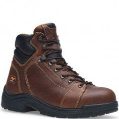 050506242 Timberland PRO Men's Titan Safety Boots - Brown www.bootbay.com