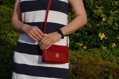 .: DIY striped dress :. #DIY #stripes