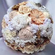 fabric flower bouquet - Google Search