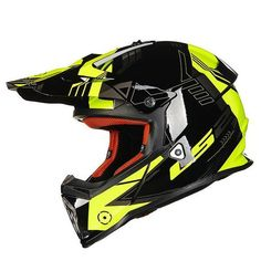 THE BEST TECHNOLOGYThe LS2 Fast Full Face MX, Off Road Motorcycle Helmet perhaps the best value in a lightweight motocross helmet, LS2's Fast is a technically advanced weapon for serious off road riders. The shell is made from LS2's proprietary Kinetic Polymer Alloy (KPA). This innovative material is ultra-light weight