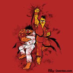 Sesame Street Fighter IV