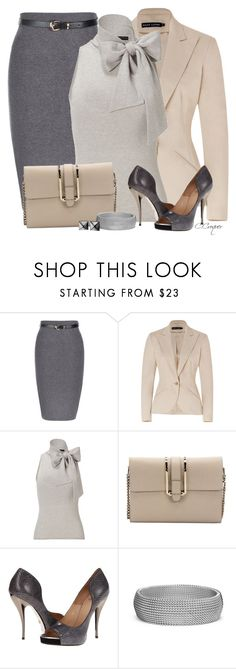 """Mostly Grey"" by ccroquer ❤ liked on Polyvore featuring Ralph Lauren, Chloé, Viktor & Rolf, Blue Nile and Waterford"