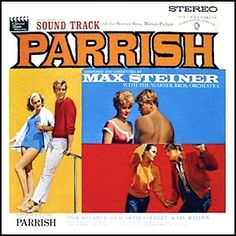 """""""Parrish"""" (1961, Warner Brothers).  Music from the movie soundtrack."""