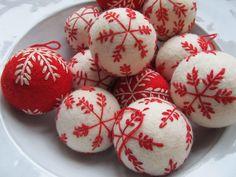 Felt balls fadeinteriors.com