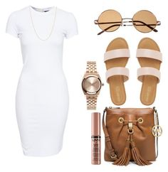 """""""Untitled #1031"""" by kgoldchains ❤ liked on Polyvore featuring SELECTED, Topshop, MICHAEL Michael Kors, women's clothing, women's fashion, women, female, woman, misses and juniors"""