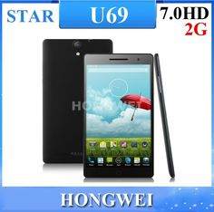 Find More Mobile Phones Information about Star  U69 (U7) 7.0 Inch 1920x1200 IPS Screen Android 4.2.2 Smart Phone With MTK6592 1.6MHz Octa Core CPU 2GB RAM 16GB ROM,High Quality screen android,China screen android tablet Suppliers, Cheap screen protector android from HONGWEI  TECHNOLOGY CO.. LTD. on Aliexpress.com