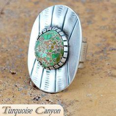 Navajo Carico Lake Turquoise Ring Size 8 1 2 by Touchine SKU 224097 | eBay