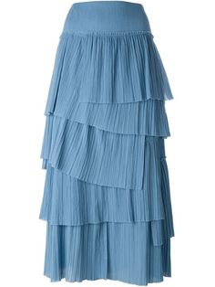 Shop Sonia Rykiel tiered pleat skirt in Luisa Boutique from the world's best independent boutiques at farfetch.com. Shop 400 boutiques at one address.