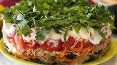 ПРОСТО БОЖЕСТВЕННЫЙ салат Баклажанный Рай. Всегда первым улетает со стола!