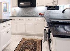 black impala granite countertops - Google Search