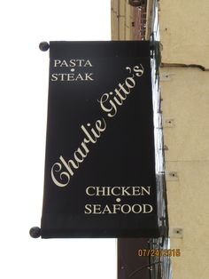 Charlie Gitto's Downtown St Louis, MO - Pasta - Steak - Chicken - Seafood - Perfect destination before before watching your favorite sports event.
