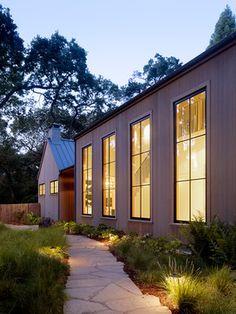 Woodside Residence - contemporary - entry - san francisco - Charlie Barnett Associates