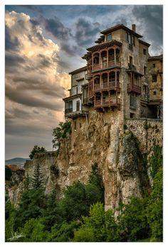 Casas colgantes de Cuenca /España