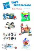 Hasbro Toys Prize Pack Giveaway  Open to: United States Ending on: 10/15/2016 Enter for a chance to win a huge Hasbro Toys prize package valued at $187 including Star Wars Transformers and more. Enter this Giveaway at About a Mom  Enter the Hasbro Toys Prize Pack Giveaway on Giveaway Promote.