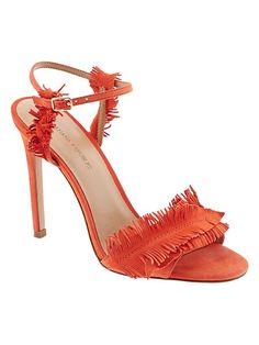 e559f1d90c63 Bryn Feather-Fringe Heeled Sandal product photo
