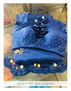 Saree Tassels Designs, Saree Kuchu Designs, Silk Saree Blouse Designs, Blouse Patterns, Saree Gown, Lace Saree, Sari, Bollywood Designer Sarees, Simple Sarees