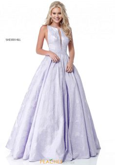 Sherri Hill 51703 dress for your next formal event at The Castle. We are an authorized retailer for all Sherri Hill dresses and every 51703 is brand new with all original tags! Pastel Prom Dress, Floral Prom Dresses, Grad Dresses Long, Floral Gown, Long Prom Gowns, Bridal Dresses, Bridesmaid Dresses, Formal Dresses, Sherri Hill Prom Dresses