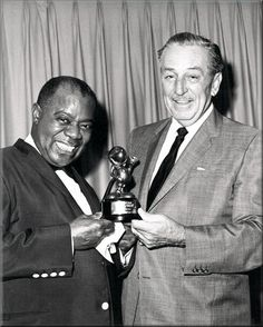 DbM Louis Armstrong and Walt