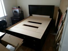Large Bed Assembly