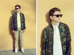 Illesteva My Favourite Sunglasses From Such A Talented Designer, Pull Camouflage Varsity Jacket, Zara Nude Color Chinos, Pull Sneakers