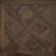 Classic American Walnut | Versailles Mosaic Wood Floors | Coswick Hardwood Floors