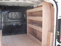 Fiat Doblo 2012 onwards L1H1 Van Racking Plywood Shelving storage ...