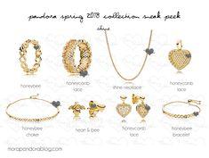 Pandora Spring 2018 Shine collection