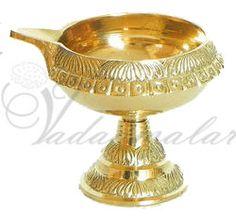 Kuber Diya / Kuberavlizaku  http://www.thugil.com/standing-brass-lamp-646.html