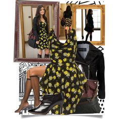 """""""Homecoming Hangover outfit 2"""" by ariamontgomery on Polyvore"""