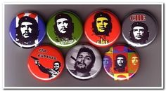 CHE Guevara buttons pins badges by pinstop on Etsy, $6.00