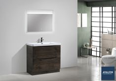 There's a vanity for any style bathroom--even contemporary!